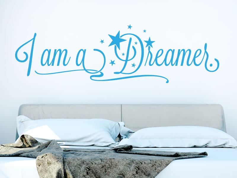 Wandtattoo I am a dreamer