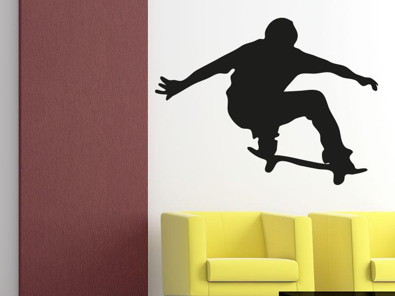 Wandtattoo Skater