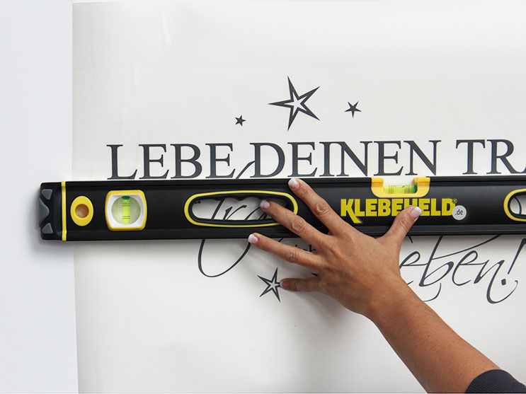 Hilfreiche Wandtattoo Anleitungen Bei Klebeheld.de