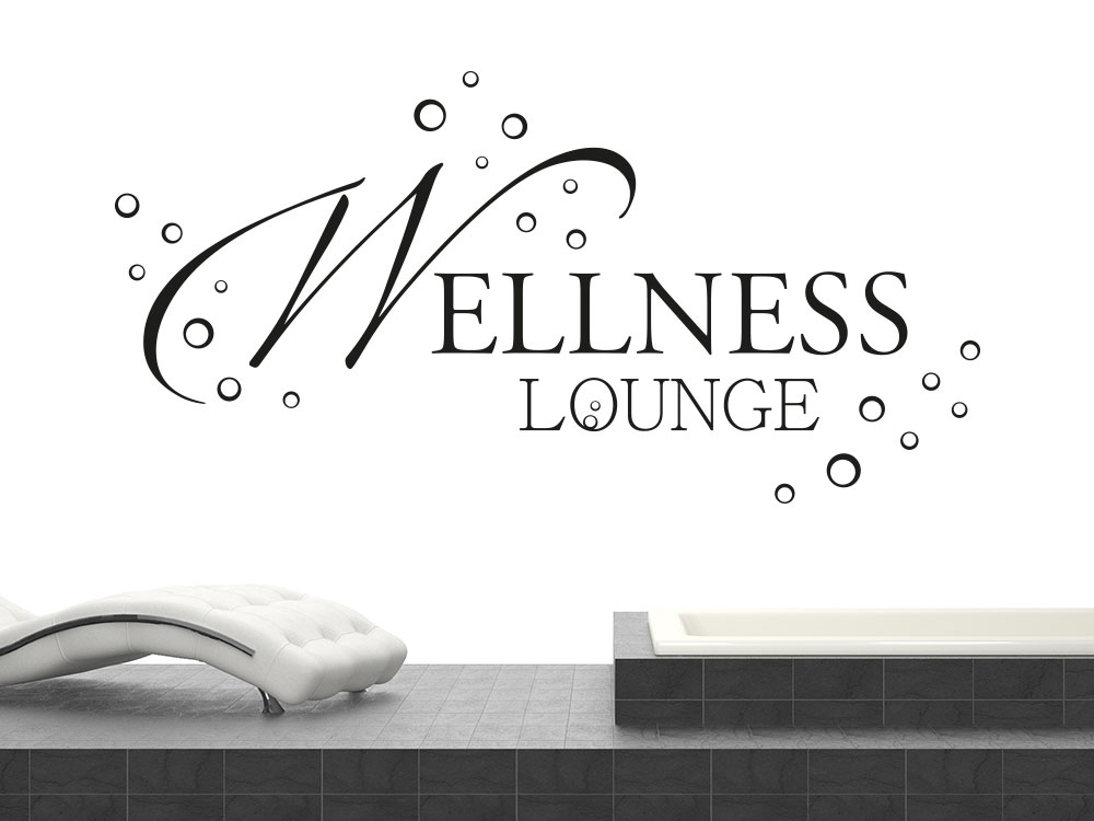 Wandtattoo Moderne Wellness Lounge