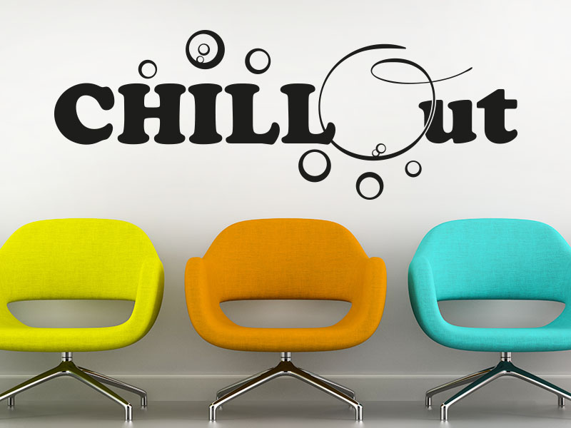 Wandtattoo Chill Out
