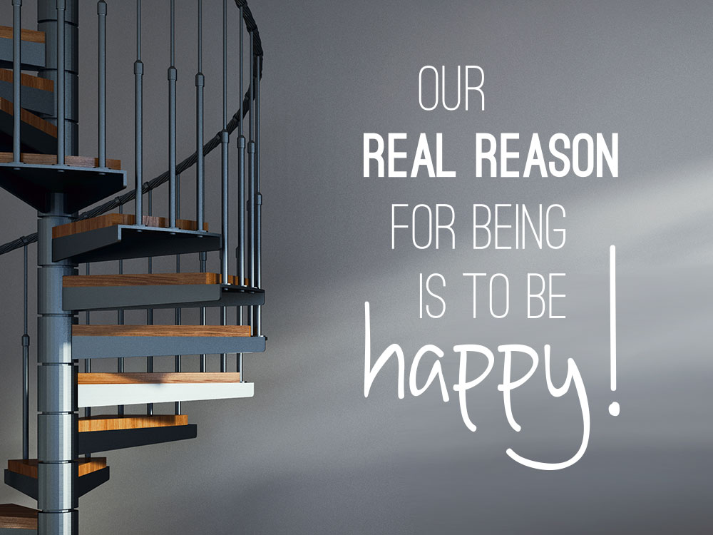 Wandtattoo Real reason
