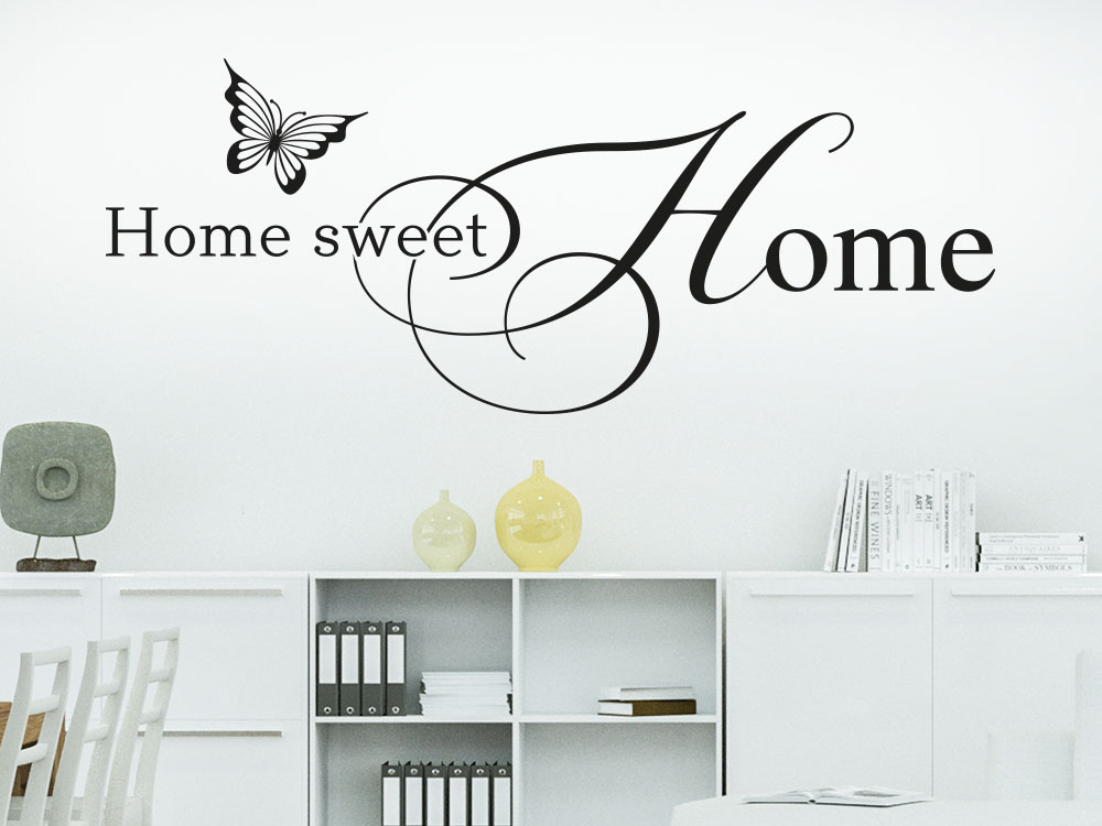 Wandtattoo Home Sweet Home No.3