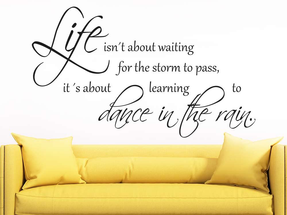 Wandtattoo Life…