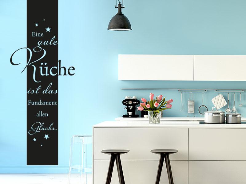 Wandtattoo Banner Eine gute Küche