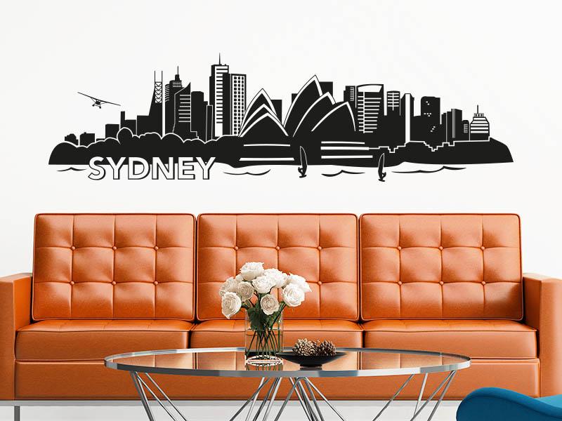 Wandtattoo Sydney Skyline
