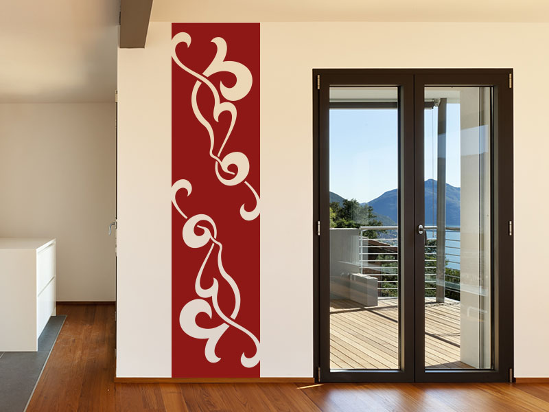 Wandtattoo Banner Dekoratives Ornament