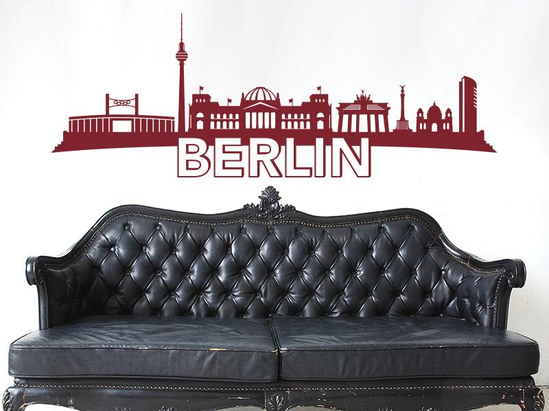 Berlin als Wandtattoo