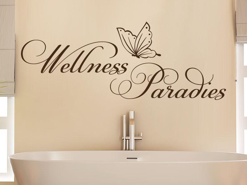 Wandtattoo wellness paradies klebeheld - Wandtattoo wellness ...