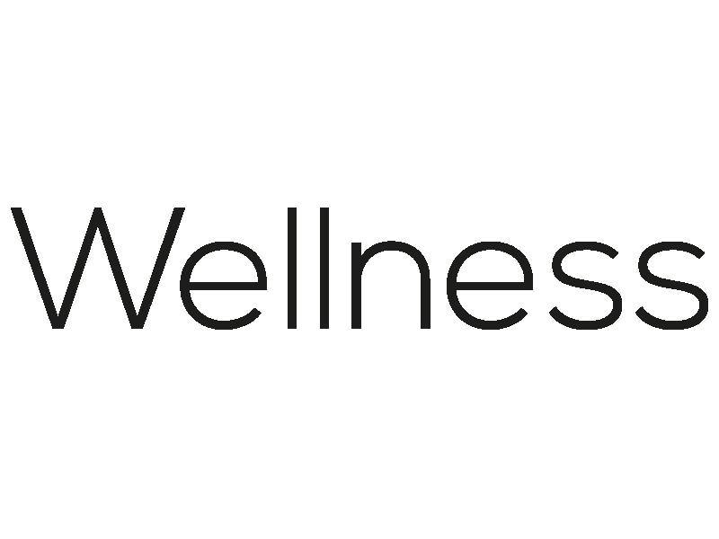 Wellness Schriftzug