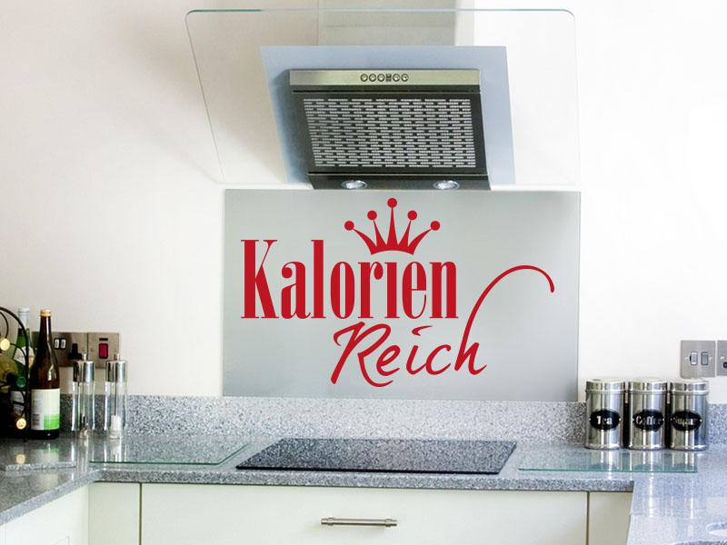 Wandtattoo Kalorien Reich