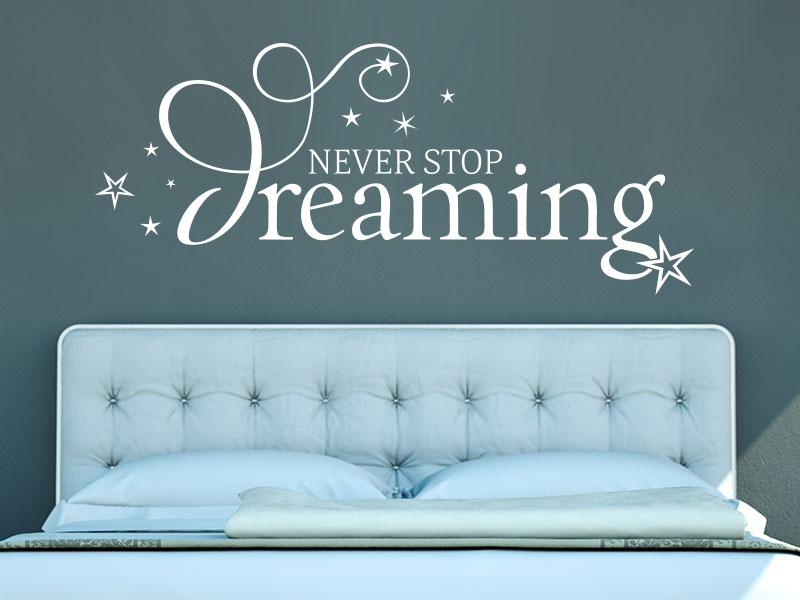 Wandtattoo dreaming