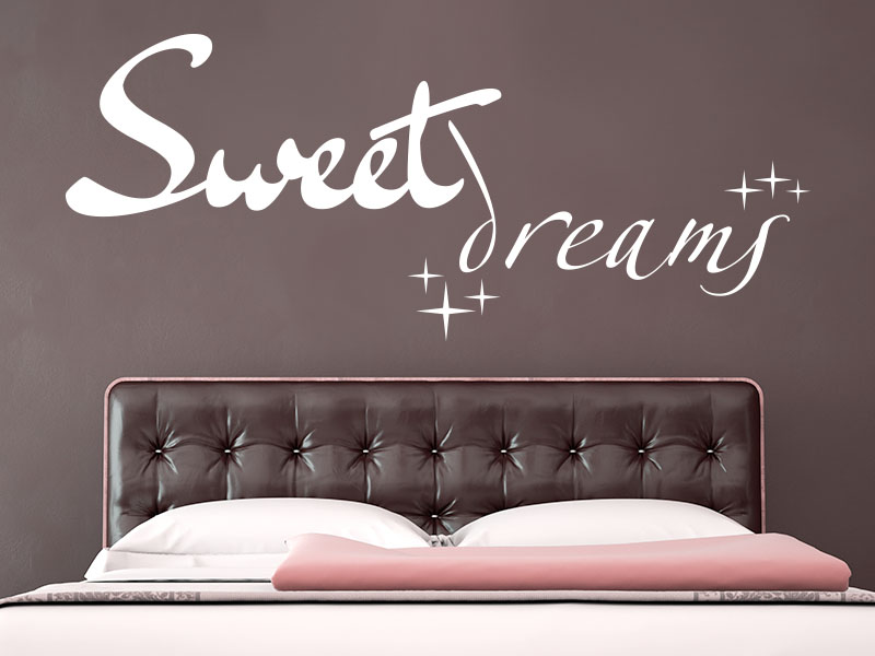 Wandtattoo Sweet Dreams No.3 von KLEBEHELD®
