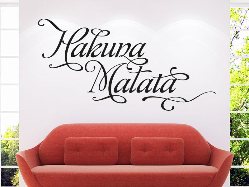 Wandtattoo Hakuna Matata