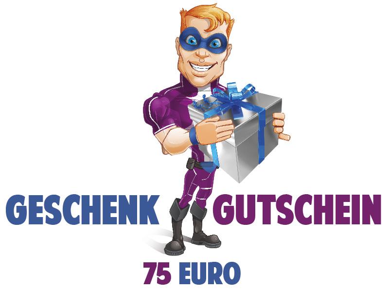 Wandtattoo Geschenkgutschein Wert 75 Euro