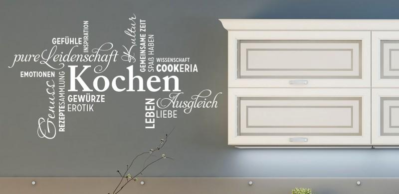 Wandtattoo Begriffe für die Küche günstige kaufen!