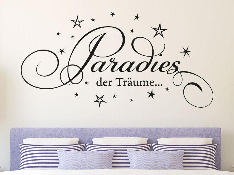 Wandtattoo Paradies der Träume