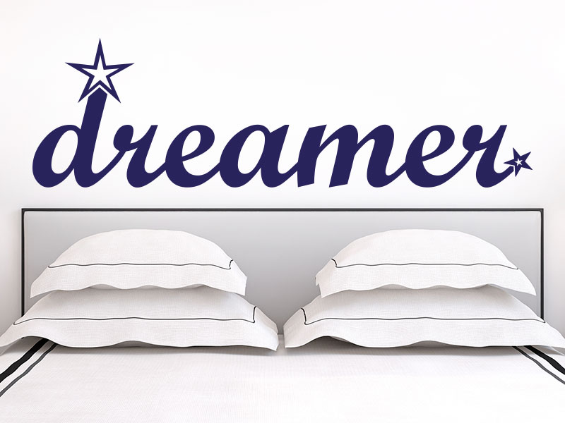 Wandtattoo dreamer
