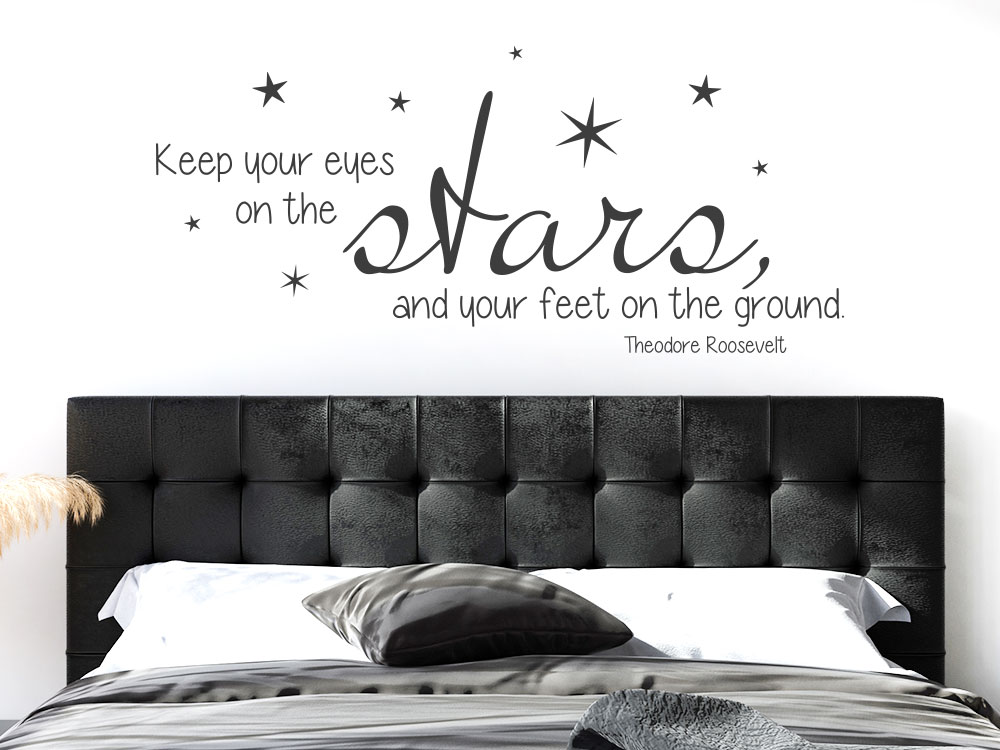 Wandtattoo Keep your eyes on the stars
