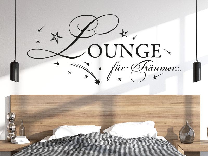 Wandtattoo Lounge für Träumer