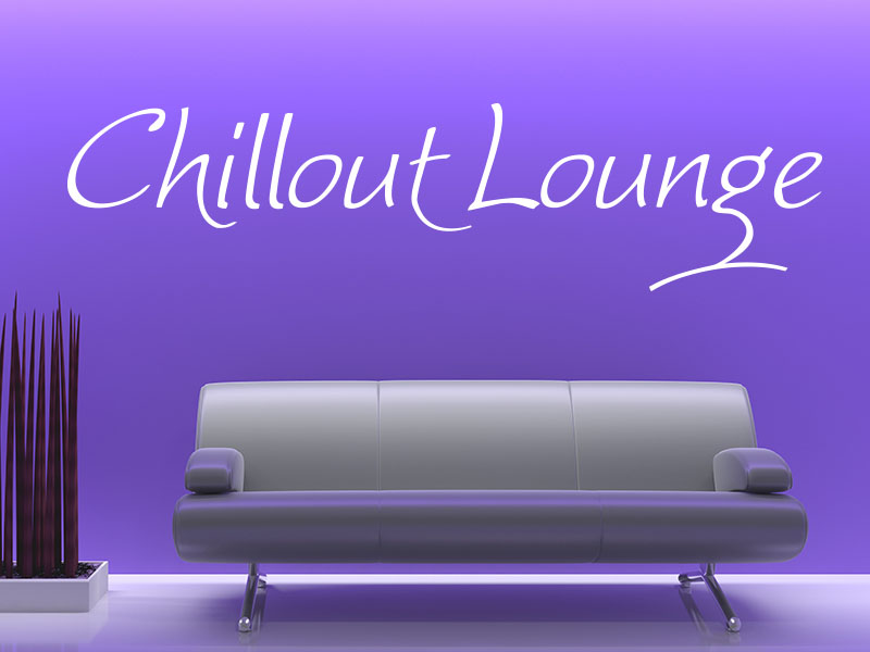 Wandtattoo Chillout Lounge No.1