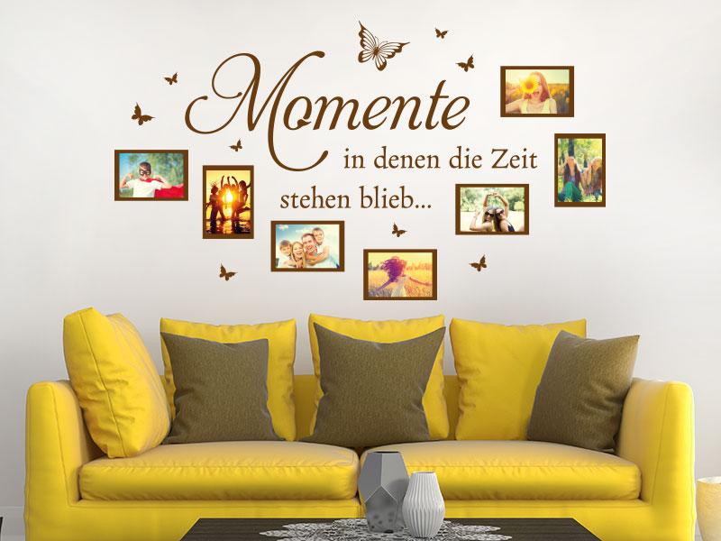 Wandtattoo Fotorahmen & Bilderrahmen für Fotos | KLEBEHELD®.DE
