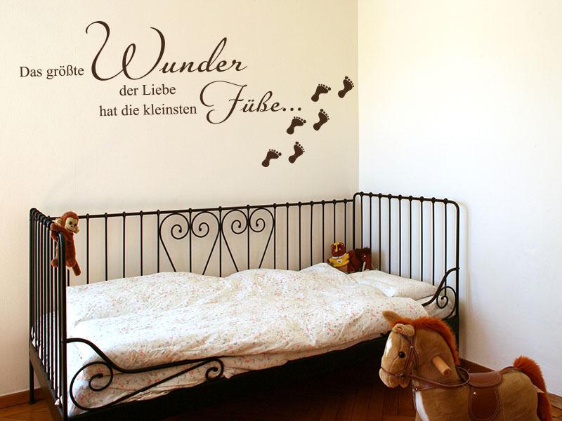 wandtattoos kinderzimmer die gr ten wunder der liebe. Black Bedroom Furniture Sets. Home Design Ideas