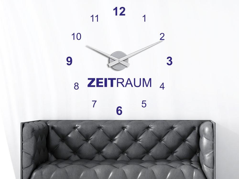 Wandtattoo Uhr Zeitraum