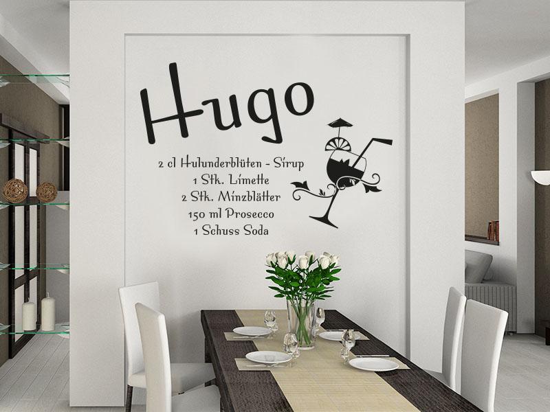 Wandtattoo Hugo