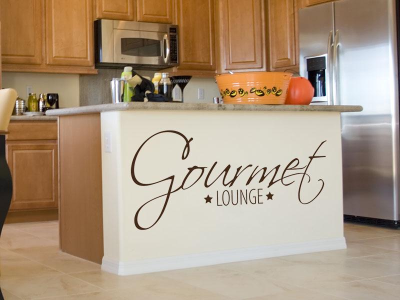 Wandtattoo Gourmet Lounge mit Sternen