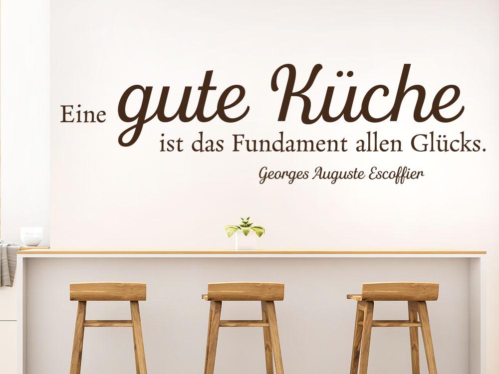 Wandtattoo Gute Küche