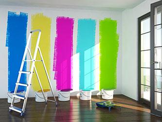 dispersionsfarbe eine allrounder unter den wandfarben. Black Bedroom Furniture Sets. Home Design Ideas