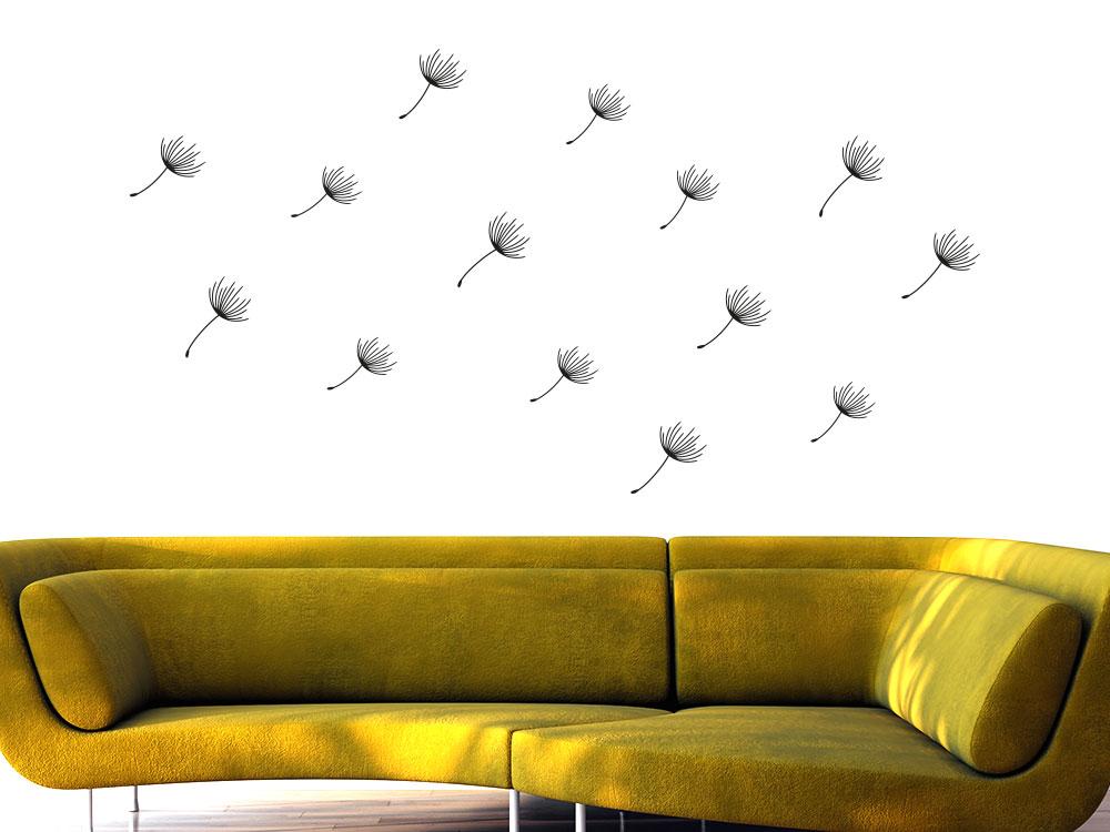 Zusatzsamen Pusteblumen Wandtattoo Set