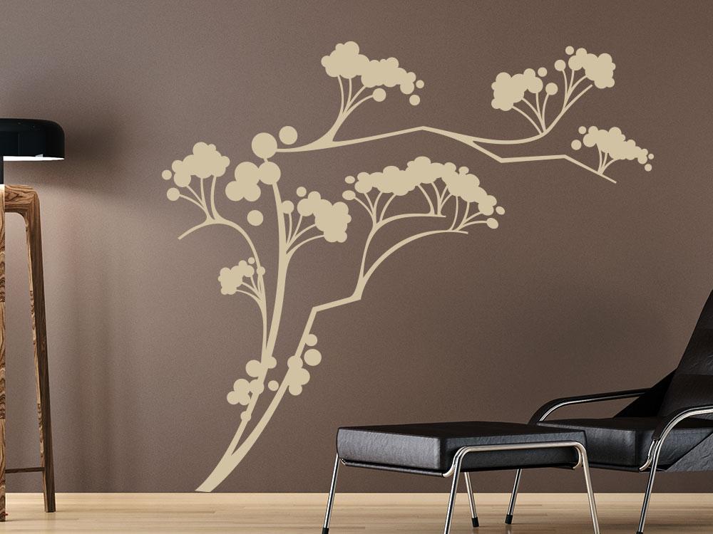 asiatische wandtattoos wandtattoo asiatische prinzessin. Black Bedroom Furniture Sets. Home Design Ideas