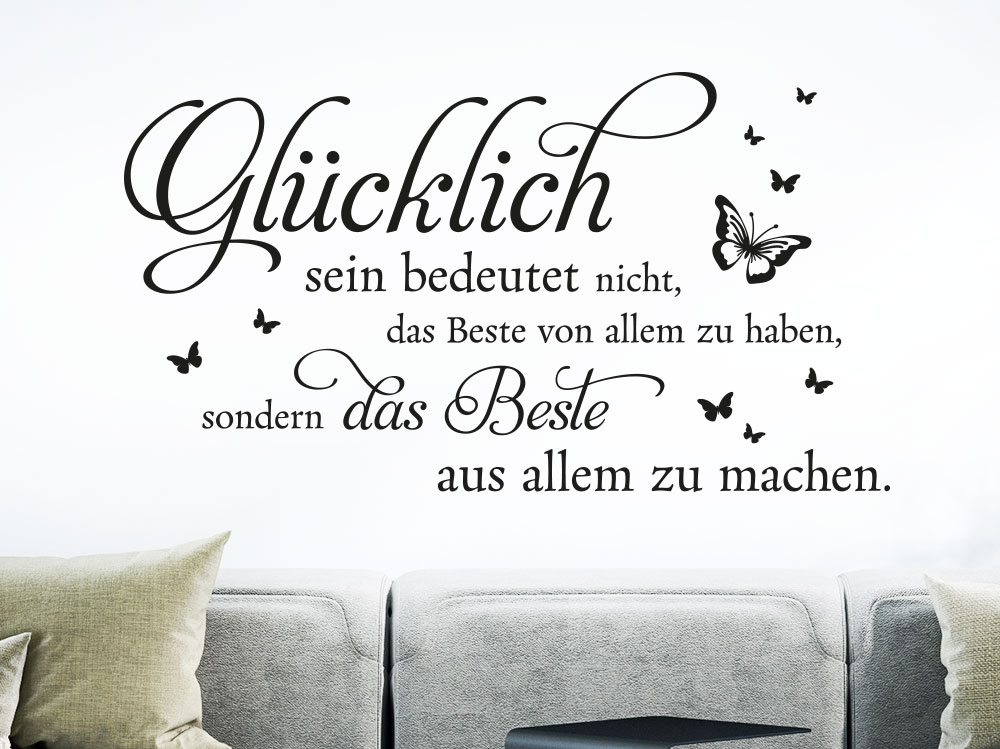 spruch online sein wandtattoo spr 252 che familie wandtattoos spruche zitate. Black Bedroom Furniture Sets. Home Design Ideas