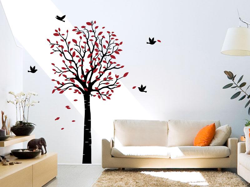 Wandtattoo Dekorativer Baum