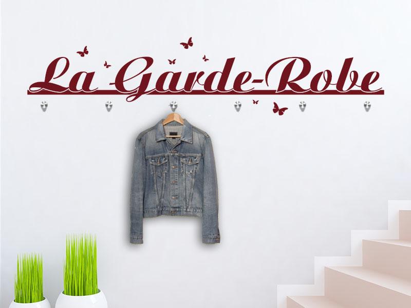 Wandtattoo Garderobe La Garde-Robe