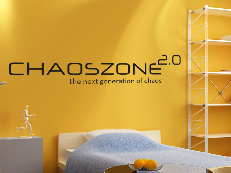 Wandtattoo Chaoszone 2.0 the next generation of chaos.