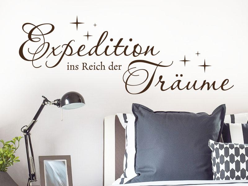 Wandtattoo Expedition ins Reich der Träume