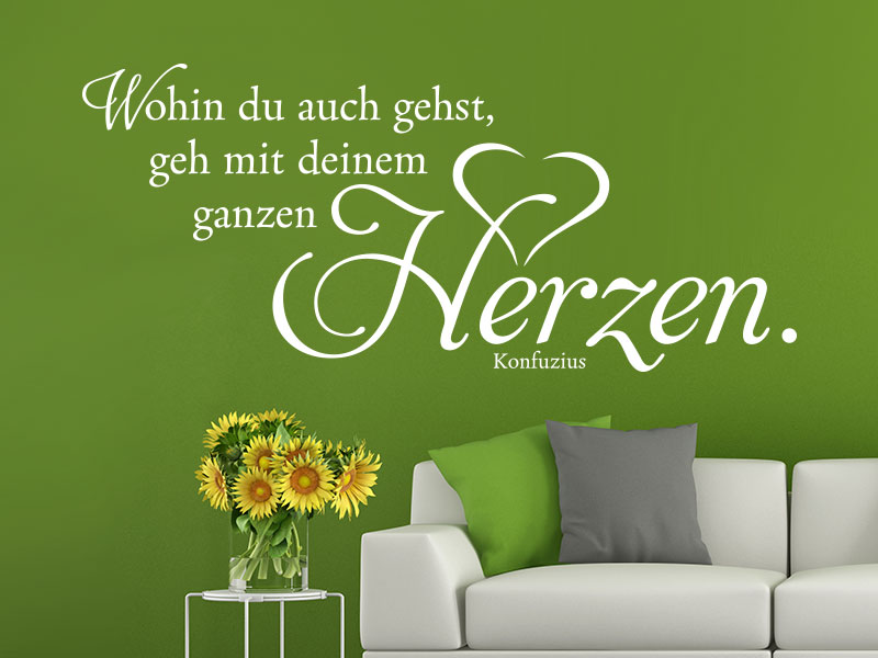 wandtattoo zitate ber die liebe bei klebeheld de. Black Bedroom Furniture Sets. Home Design Ideas