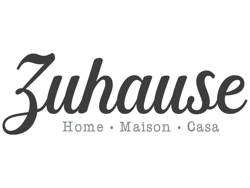 Wandtattoo Zuhause in verschiedenen Sprachen - Gesamtansicht des Wandtattoos