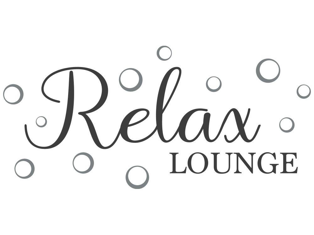 Wandtattoo Relax Lounge - Gesamtansicht