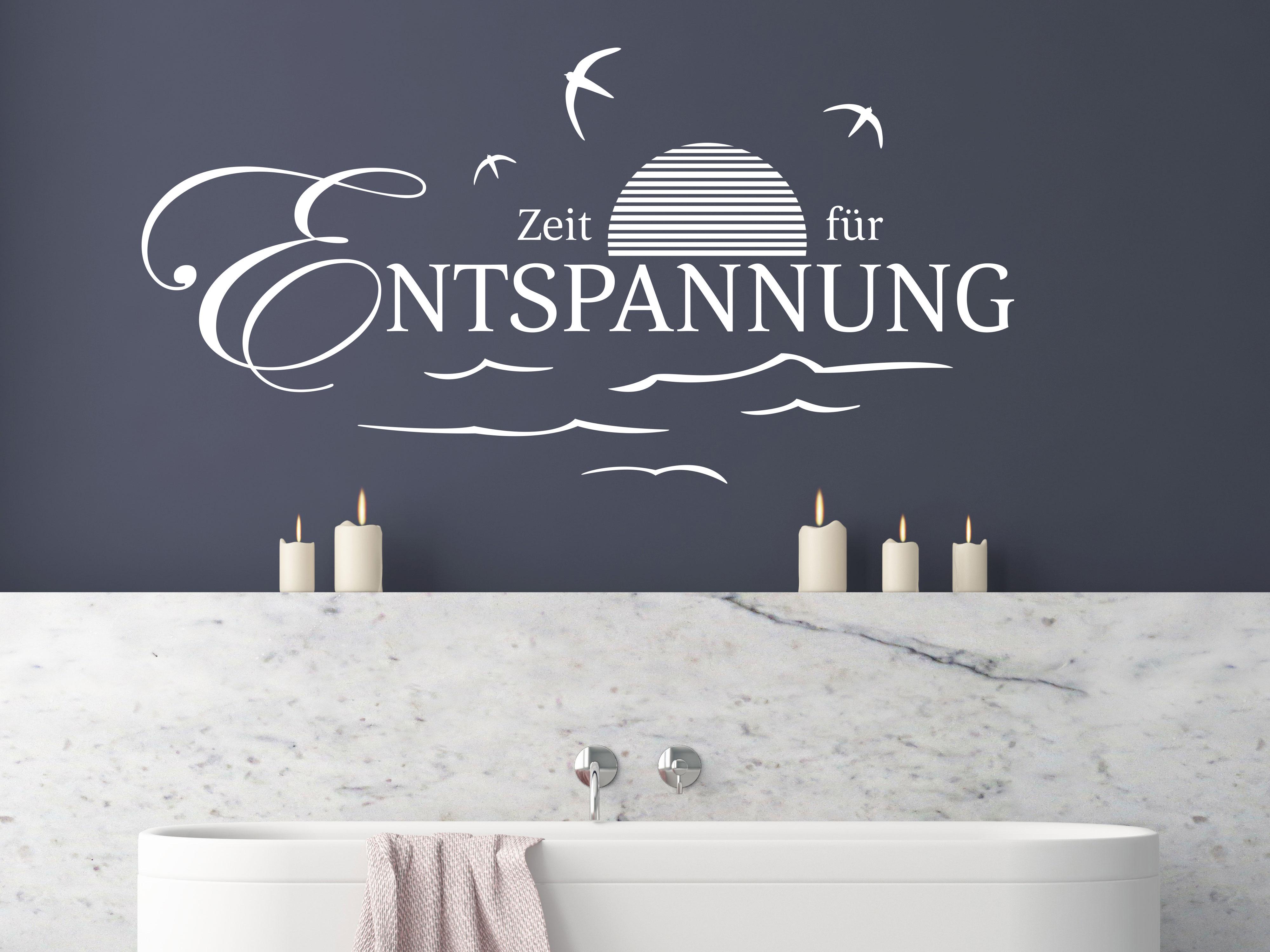 Wandtattoos & Wandbilder Wandtattoo Badezimmer Sprüche ...
