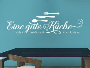 wandsprüche von klebeheld®.de sorgen für lebendige wände   klebeheld - Wandsprüche Küche