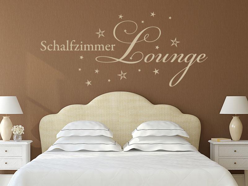 Wandtattoo Schlafzimmer Lounge