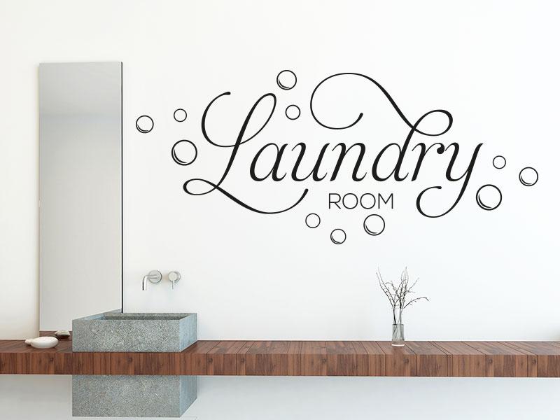 Wandtattoo Laundry Room