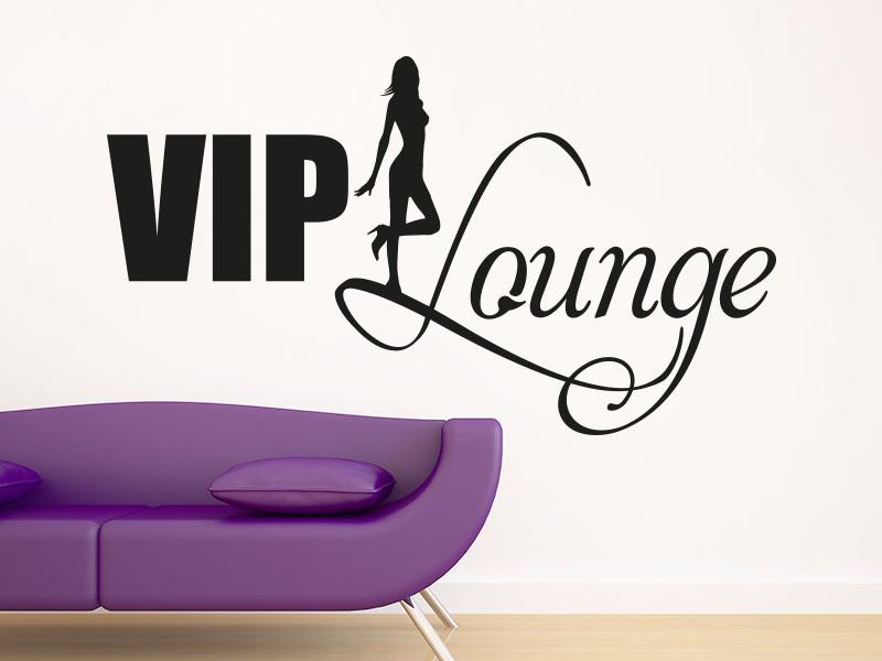 Wandtattoo VIP