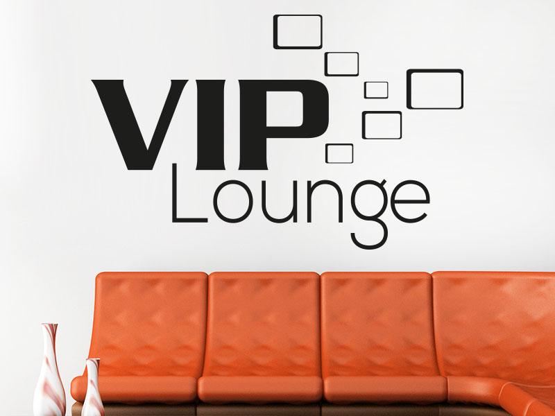 Wandtattoo VIP Lounge Modern