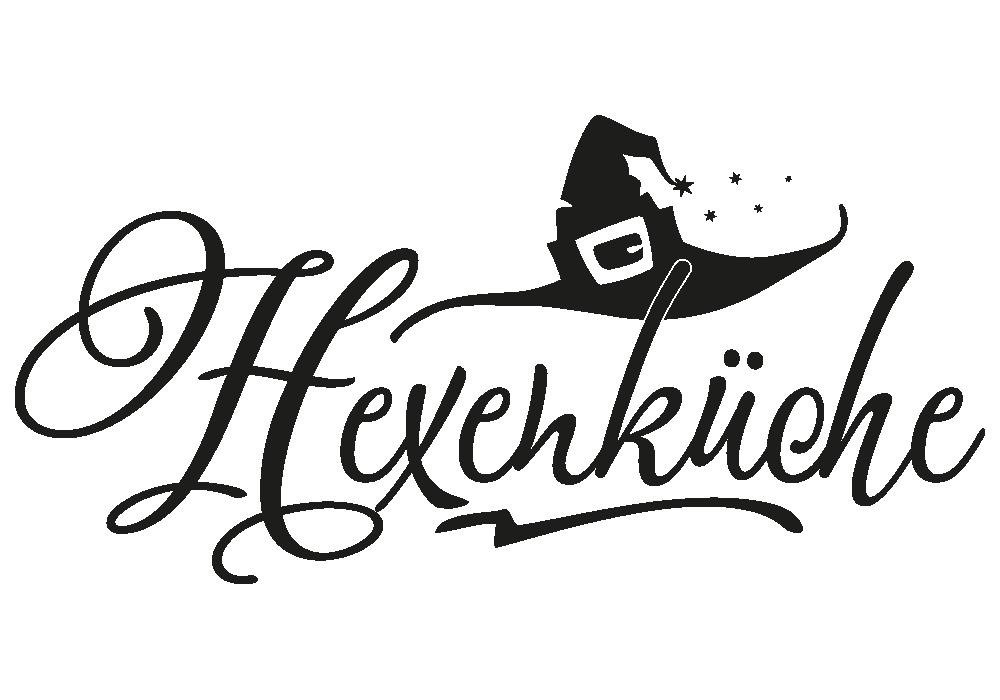 Wandtattoo Hexenküche Mit Zauberhut Von Klebeheld