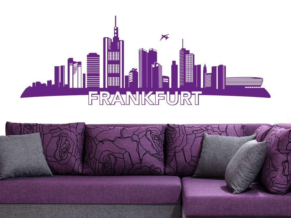 Wandtattoo Frankfurt